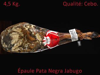 Offre Épaule Pata Negra Cebo Jabugo